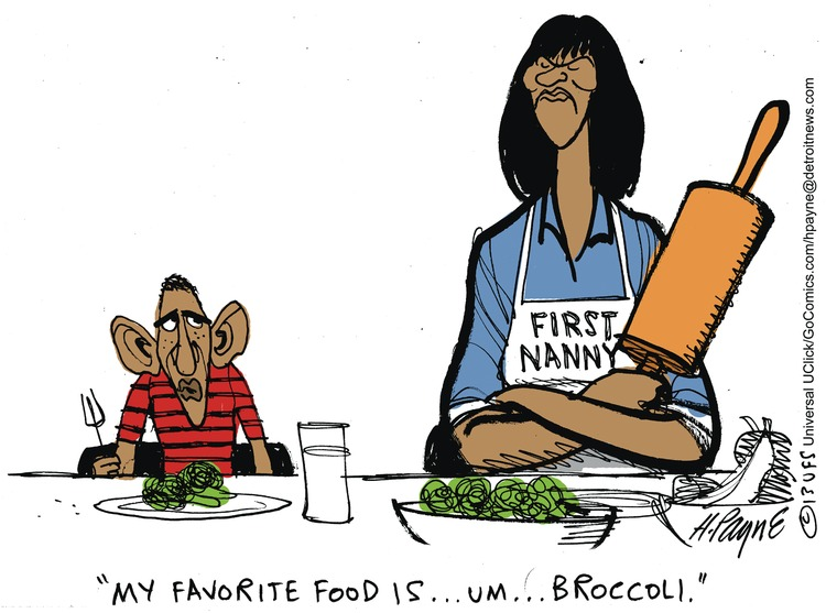 My favorite food is... um... broccoli.