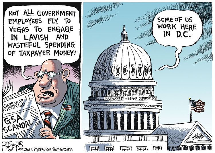 Rob Rogers Comic Strip for April 22, 2012