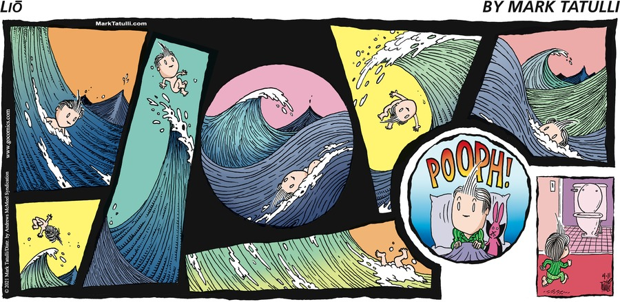 Lio Comic Strip for April 11, 2021
