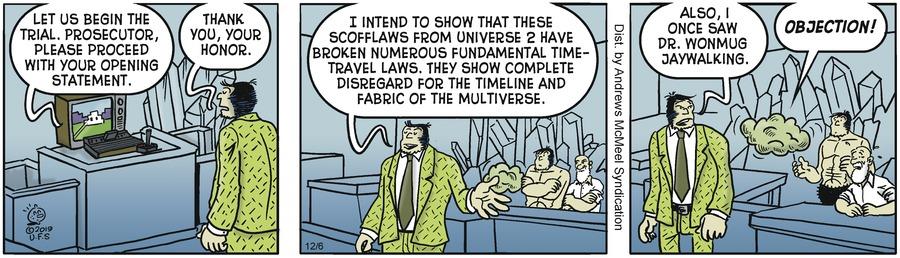 Alley Oop Comic Strip for December 06, 2019
