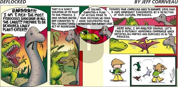 DeFlocked on Sunday April 26, 2015 Comic Strip