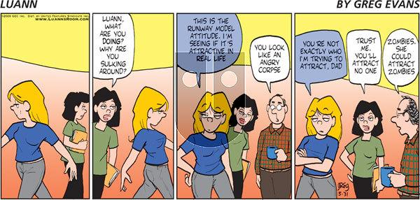 Luann on Sunday May 31, 2009 Comic Strip