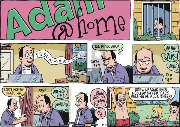 Adam@Home - Sunday August 11, 2019 Comic Strip