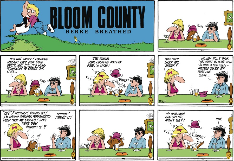 Bloom County Comic Strip for July 23, 2021