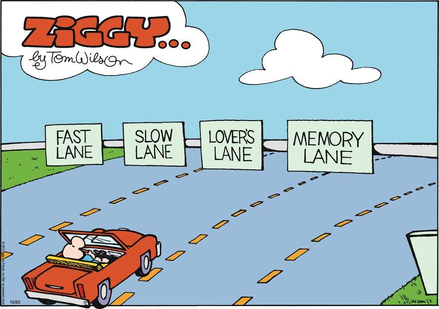 Ziggy for Oct 20, 2013 Comic Strip