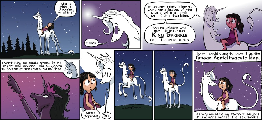 Phoebe and Her Unicorn for May 19, 2013 Comic Strip