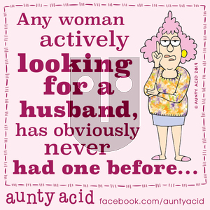Aunty Acid on Saturday November 30, 2019 Comic Strip