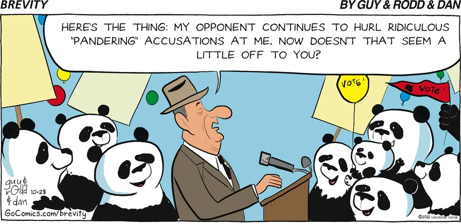 Brevity for Oct 28, 2012 Comic Strip
