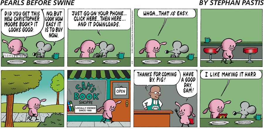 Pearls Before Swine Comic Strip for May 16, 2021