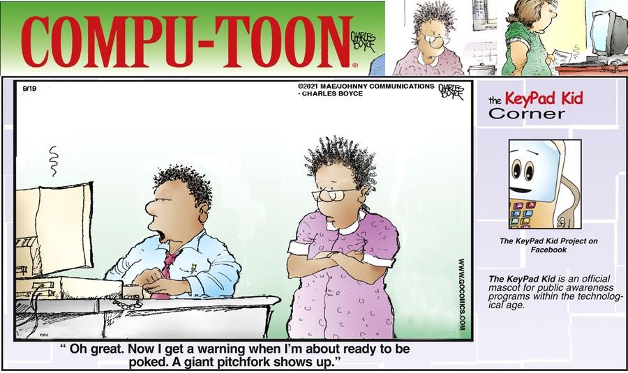 Compu-toon Comic Strip for September 19, 2021