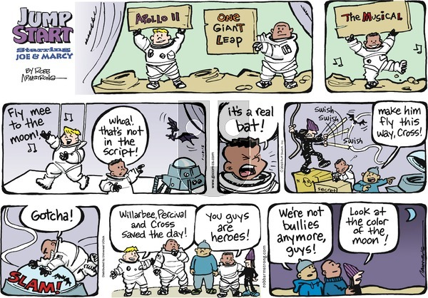 JumpStart on Sunday January 18, 2015 Comic Strip