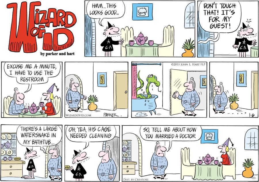 Wizard of Id for Jan 6, 2013 Comic Strip