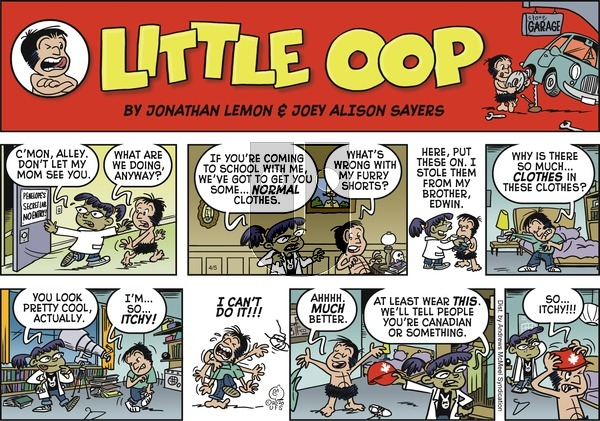 Alley Oop on Sunday April 5, 2020 Comic Strip