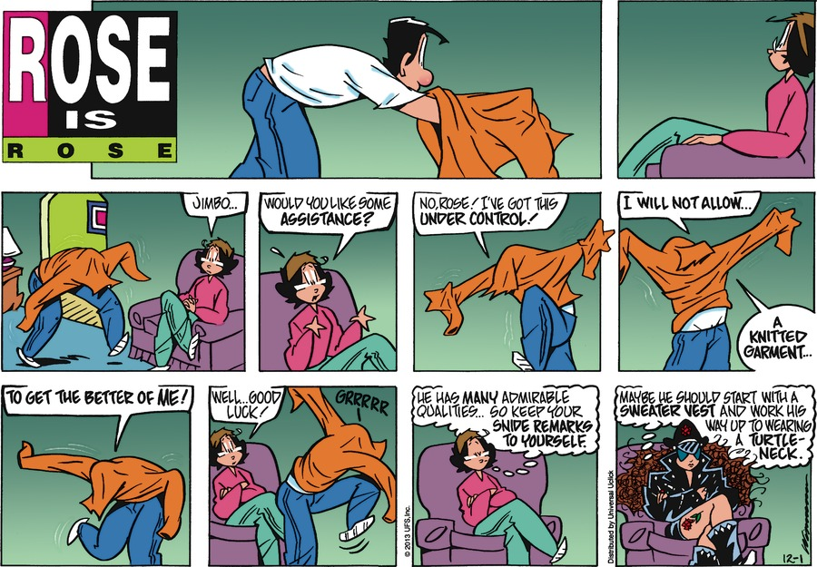 Rose is Rose for Dec 1, 2013 Comic Strip