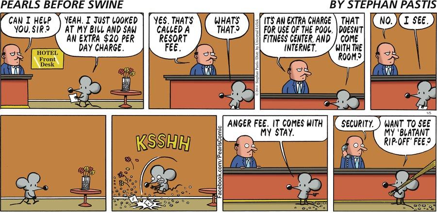 Pearls Before Swine for Jan 5, 2014 Comic Strip