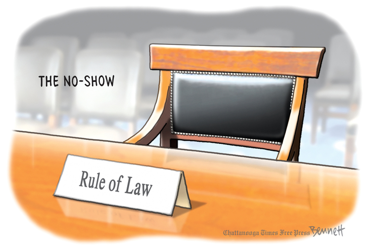 Clay Bennett by Clay Bennett for May 03, 2019