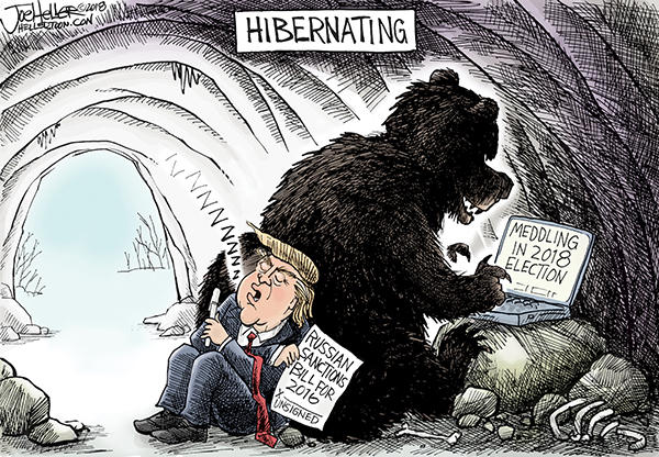 Joe Heller for Feb 26, 2018 Comic Strip