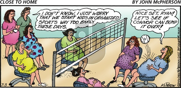 Close to Home on Sunday July 3, 2016 Comic Strip