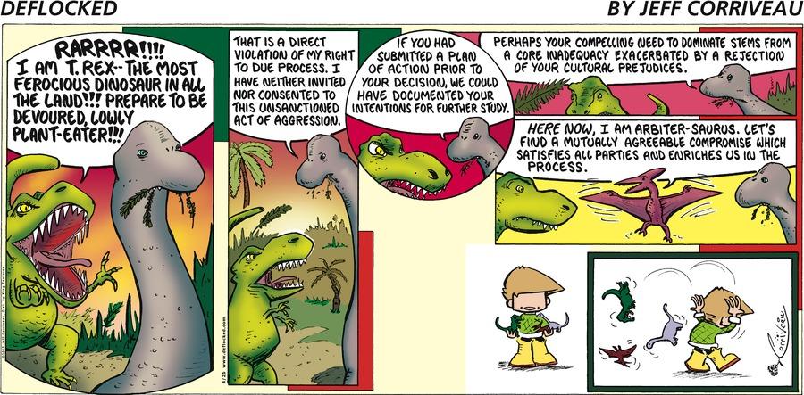 DeFlocked for Apr 26, 2015 Comic Strip
