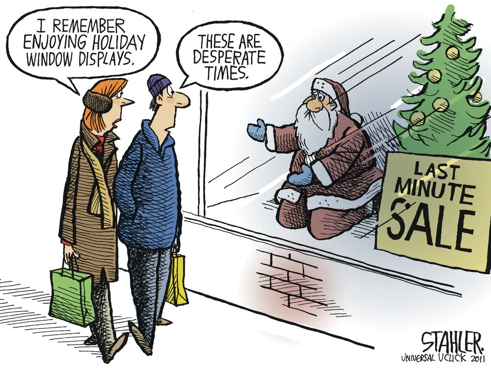 Jeff Stahler Comic Strip for December 18, 2011