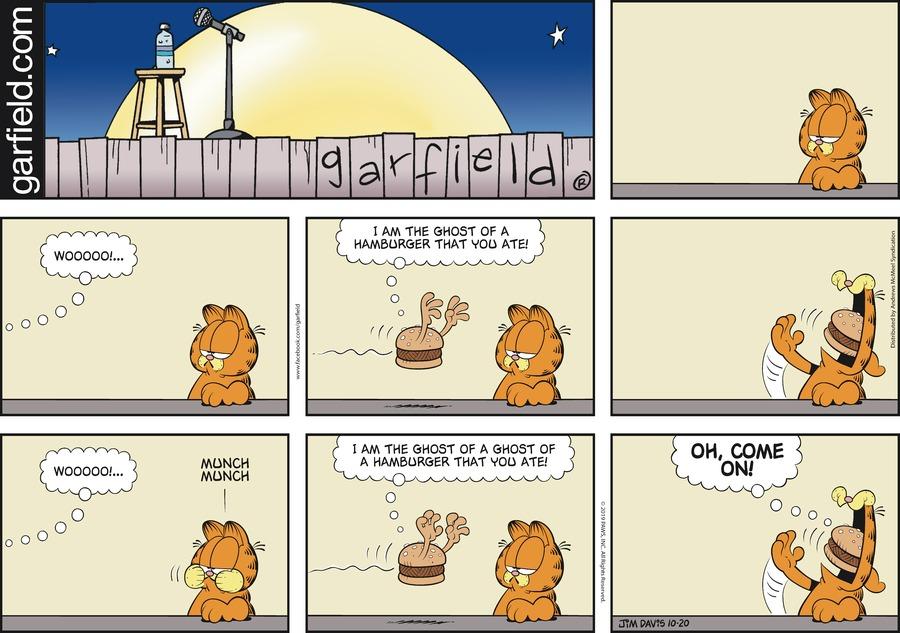 Garfield Comic Strip for October 20, 2019