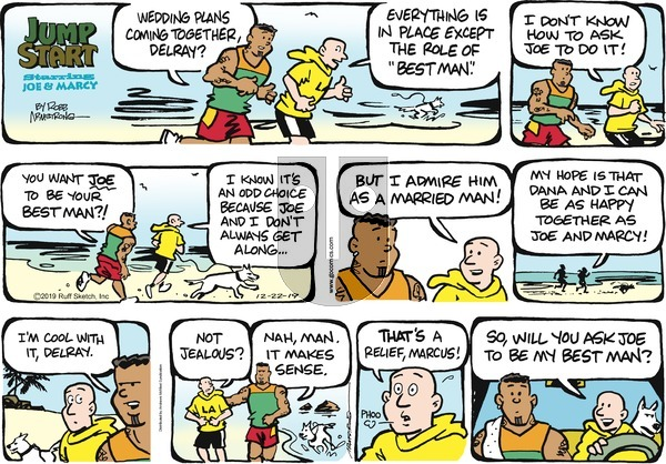 JumpStart on Sunday December 22, 2019 Comic Strip