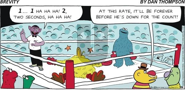 Brevity - Sunday May 23, 2021 Comic Strip