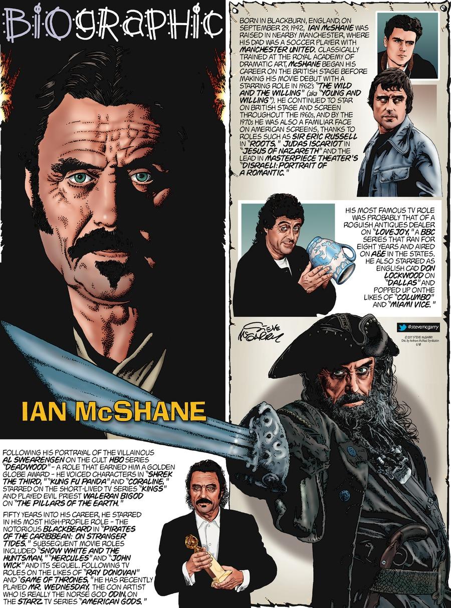 Biographic Comic Strip for June 18, 2017