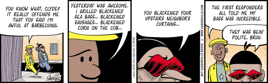Candorville Comic Strip for July 29, 2021