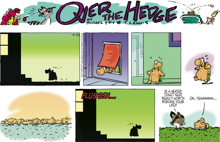 Over the Hedge Comic Strip for December 23, 2018
