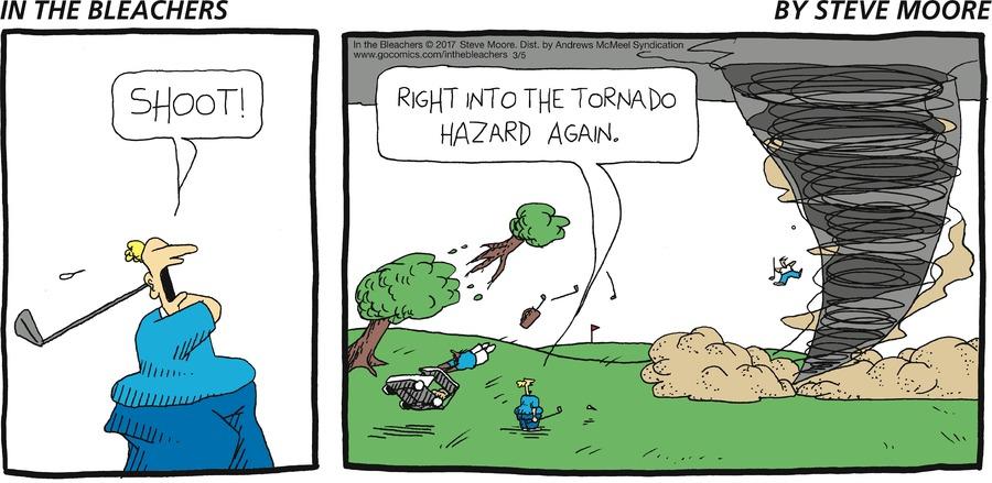 In the Bleachers for Mar 5, 2017 Comic Strip