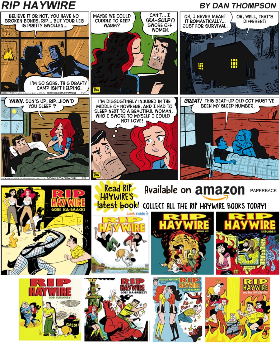 Rip Haywire Comic Strip for October 13, 2019