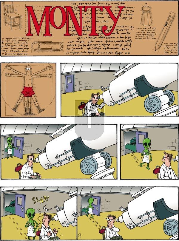 Monty - Sunday December 1, 2019 Comic Strip