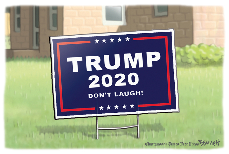 Clay Bennett by Clay Bennett on Wed, 21 Oct 2020