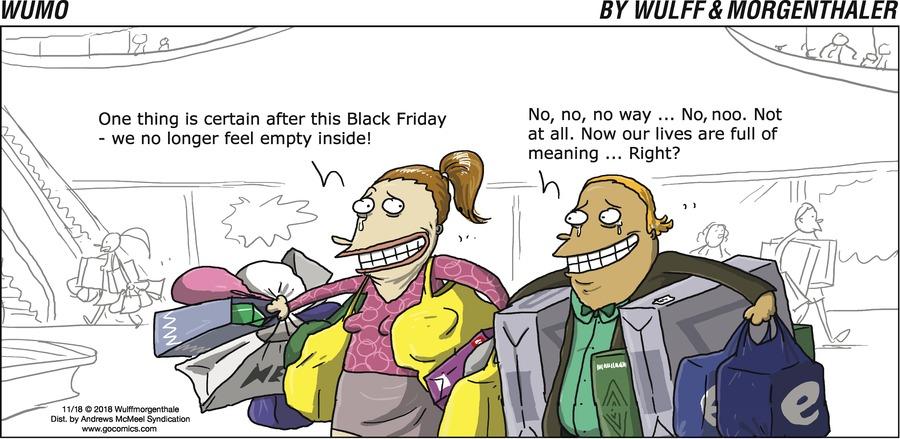 WuMo Comic Strip for November 18, 2018