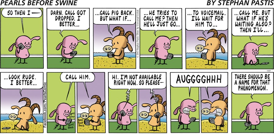Pearls Before Swine Comic Strip for October 27, 2013