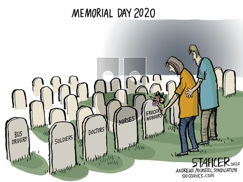 Jeff Stahler on Sunday May 24, 2020 Comic Strip