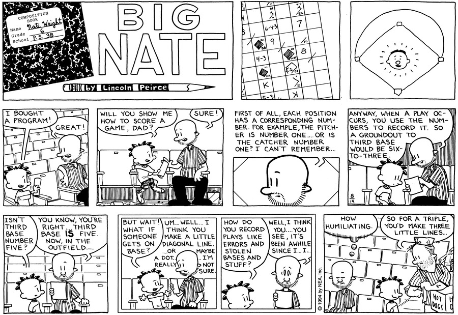 Big Nate: First Class Comic Strip for August 25, 2019