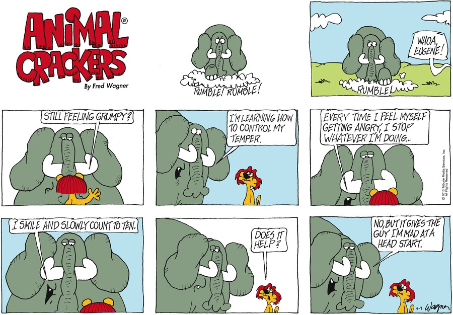 Animal Crackers for Apr 7, 2013 Comic Strip