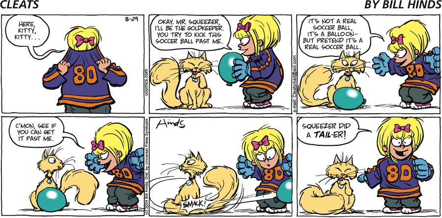 Cleats Comic Strip for September 01, 2013