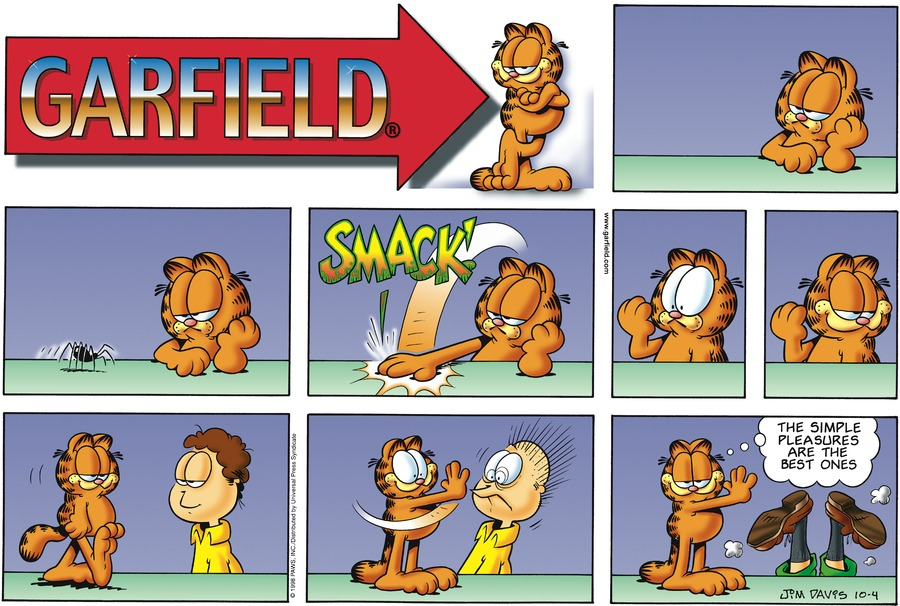 Garfield Comic Strip for October 04, 1998