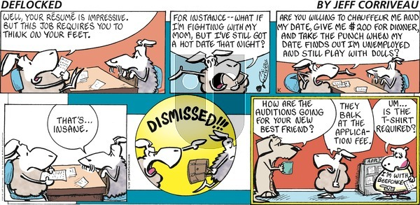 DeFlocked on Sunday June 16, 2019 Comic Strip