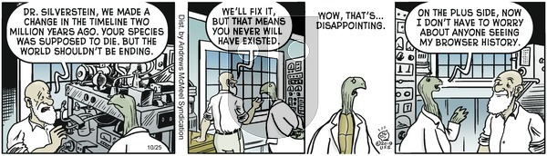 Alley Oop - Friday October 25, 2019 Comic Strip