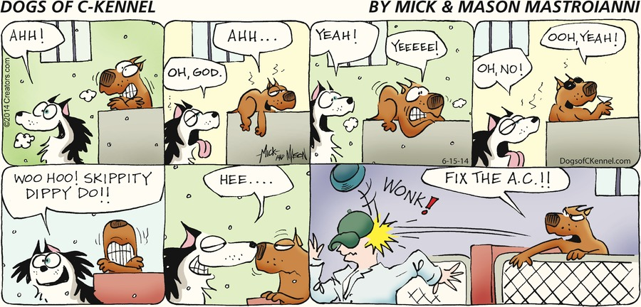 Dogs of C-Kennel Comic Strip for June 15, 2014