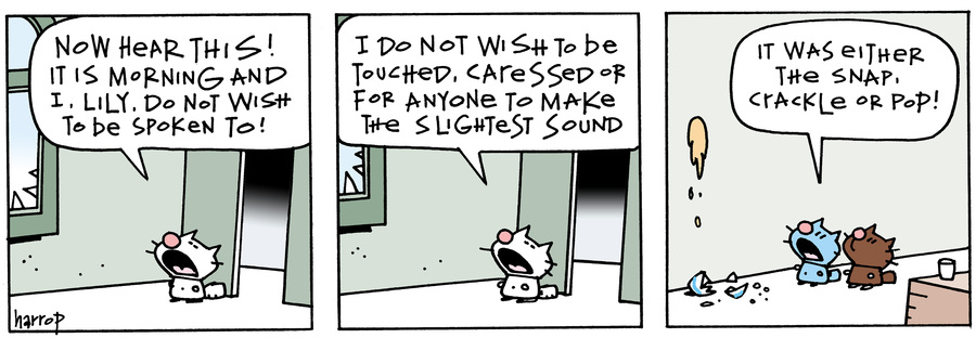 Ten Cats Comic Strip for August 14, 2019