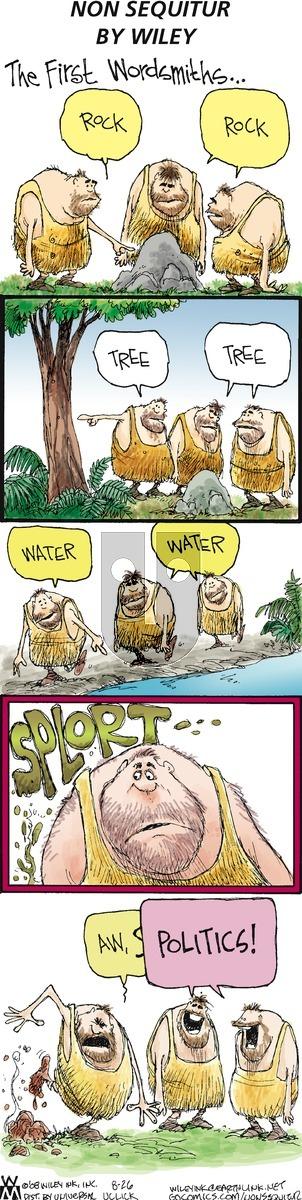 Non Sequitur on Sunday August 26, 2012 Comic Strip