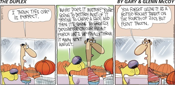 The Duplex on Sunday October 22, 2017 Comic Strip