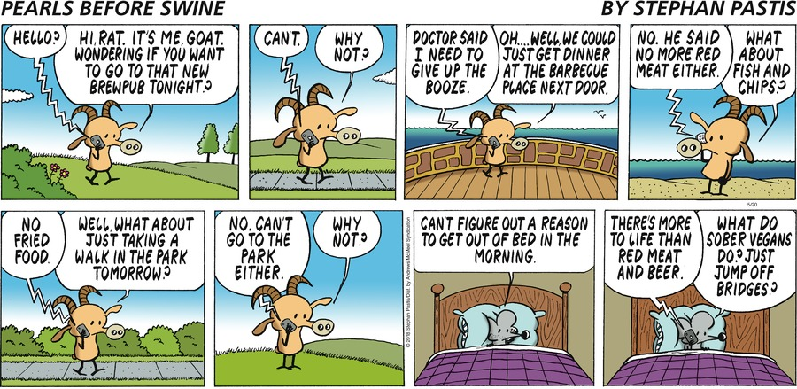 Pearls Before Swine for May 20, 2018 Comic Strip