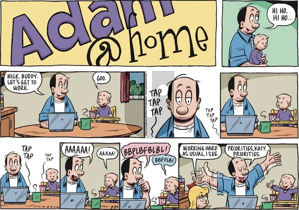 Adam@Home on Sunday February 24, 2019 Comic Strip