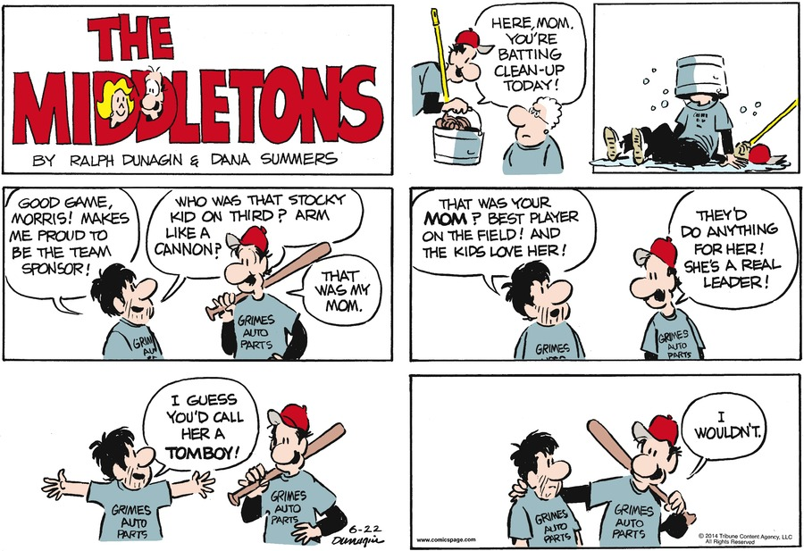 The Middletons Comic Strip for June 22, 2014